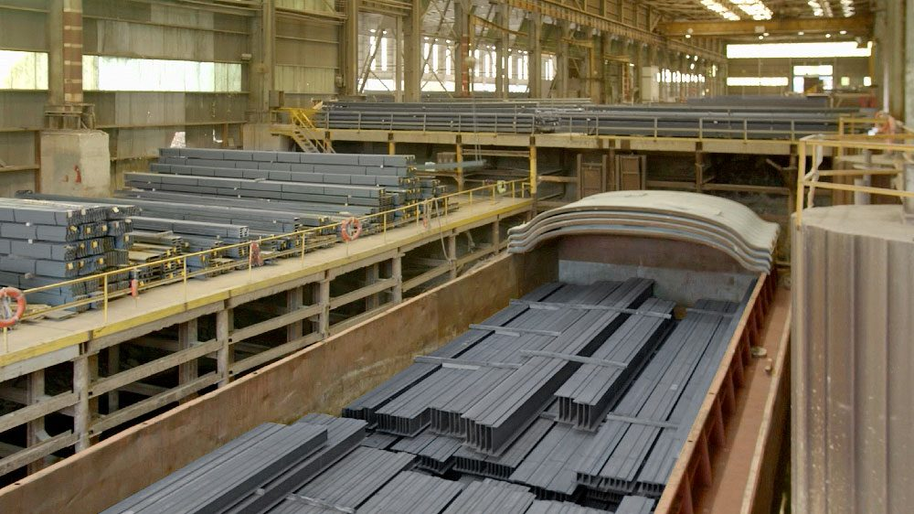 Triad Metals Logistics Barge