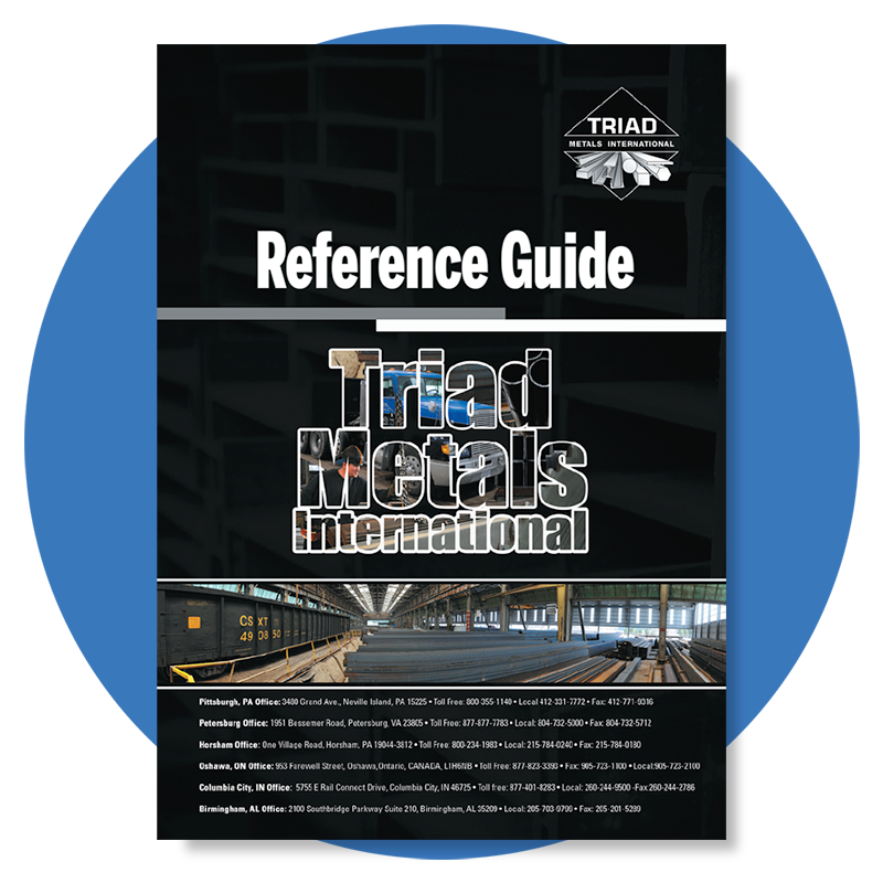 Triad Metals Form Reference Guide