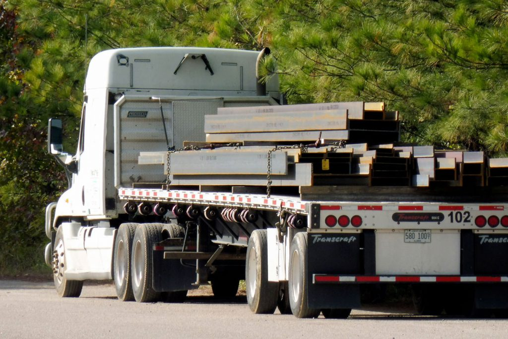 Triad Metals Beams Truck