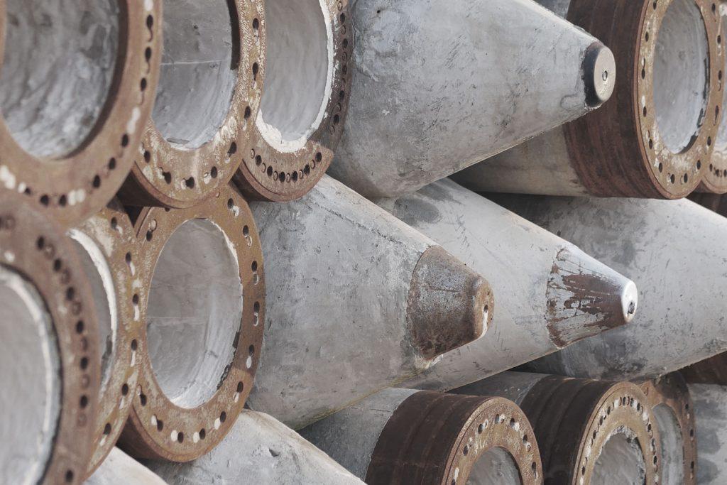Triad Metals Piling Tips Cones