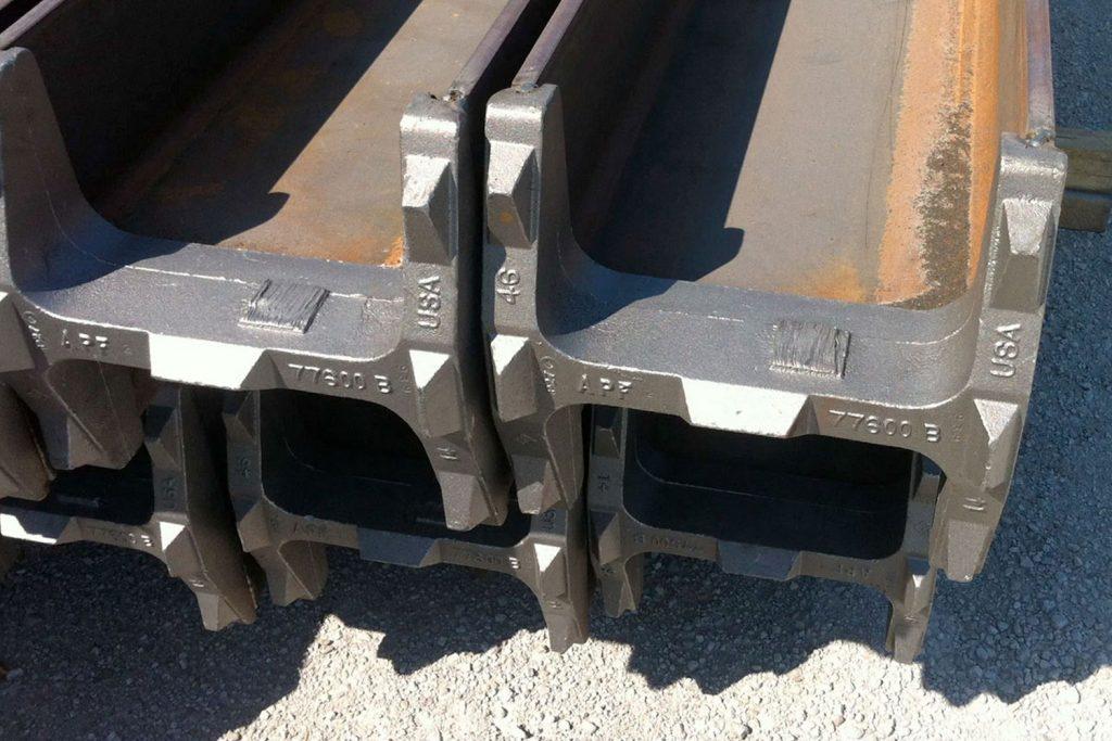 Triad Metals Piling Tips I-Beam