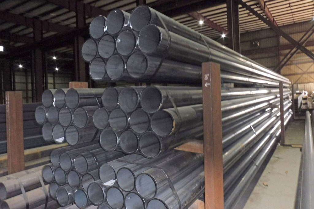 Triad Metals Pipe Stacked