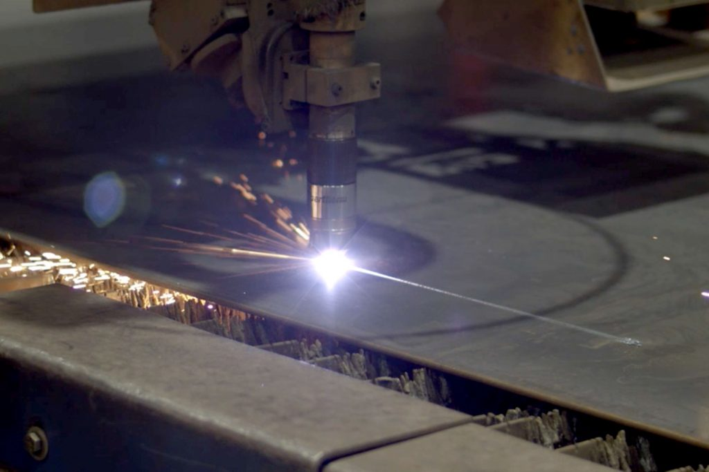 Triad Metals Plate Oxy Cut