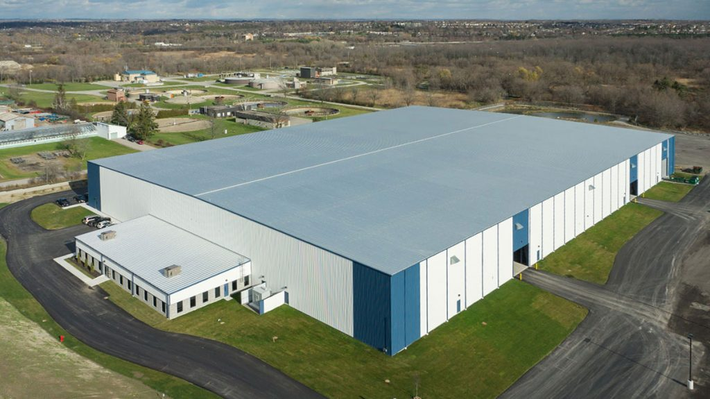Triad Metals Oshawa Warehouse